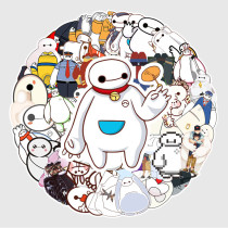 50PCS Baymax Unicorns Waterproof Stickers Decals for Luggage Laptop Water Bottles