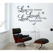 Love Slogan Door Room Waterproof Decorative Wall Stickers