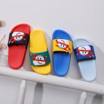 Toddlers Kids Cute Cartoon Super Flash Flat Beach Summer Slippers