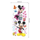 Disney Mickey Mouse Door Room Waterproof Decorative Wall Stickers