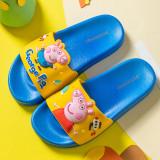 Toddlers Kids Cartoon Peppa George Pig Spaceship Flat Beach Slippers