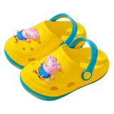 Toddlers Kids Peppa Pig Flat Beach Cartoon Summer Slippers Sandals