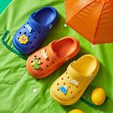 Toddlers Kids Sun Flower Flat Beach Summer Slippers Sandals