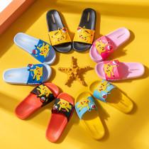 Toddlers Kids Pikachu Pokemon Flat Beach Summer Slippers
