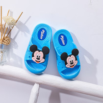 Toddlers Kids Cartoon Mickey Flat Beach Hole Shoes Summer Slippers