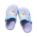Toddlers Kids Cartoon Snow Princess Aisha Flat Beach Summer Slippers