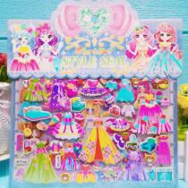 35PCS Cartoon PAW Patrol Super Wings 3D Foam Puffy Sticker for Kids Toddler