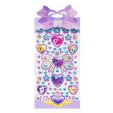 50PCS Frozen Disney Princess DIY Crystal Rhinestone Sticker Jewels Gems Stickers Set for Kids
