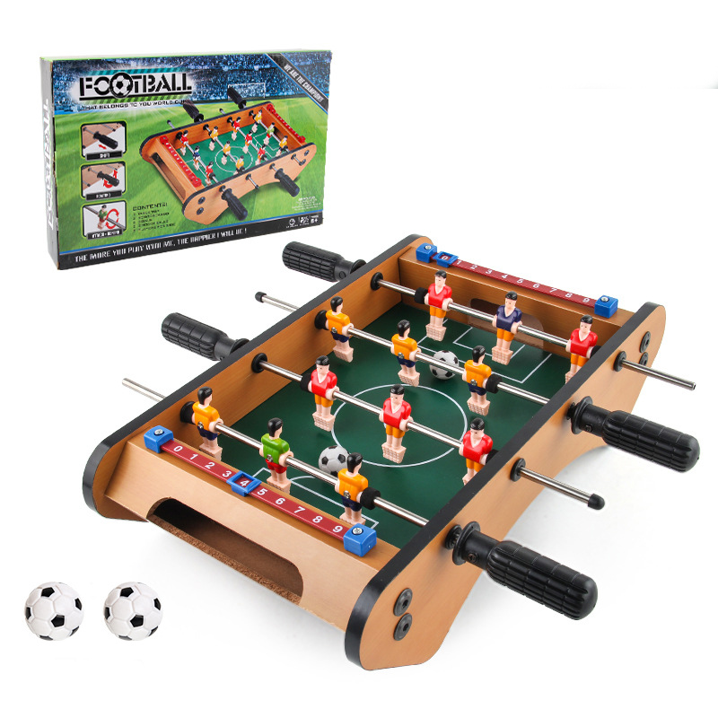 Foosball Table Mini Tabletop Soccer Competition Games Sports Games Family Educational Toy for Kids Gift