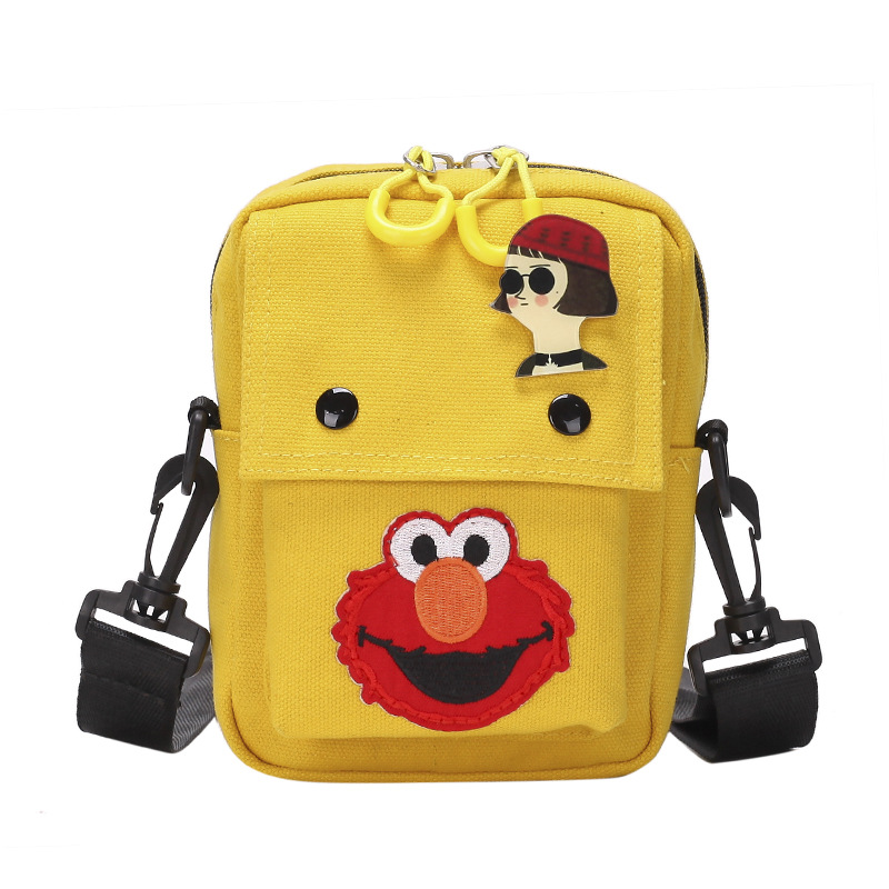 Sesame Street Canvas Shoulder Bags