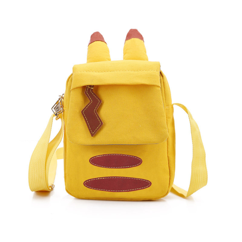Yellow Pikachu Shoulder Mini Bag