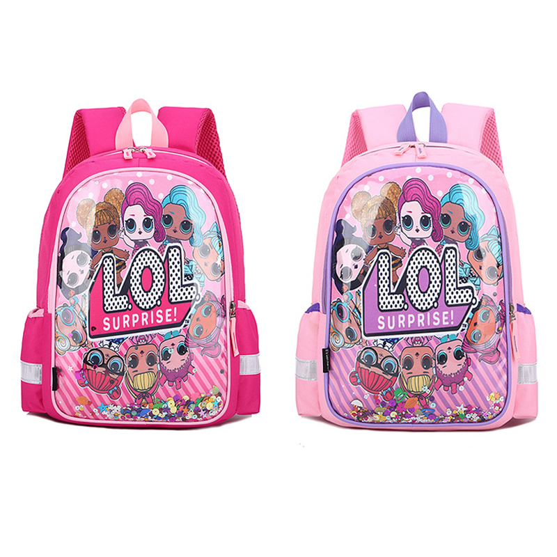 Students Primary School Backpack LOL Waterproof Schoolbags