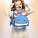 Kindergarten School Backpack 3D Cute Animals Schoolbags For Toddlers