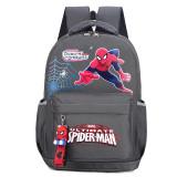 Students Primary School Backpack Cartoon Spider Man Waterproof Schoolbags