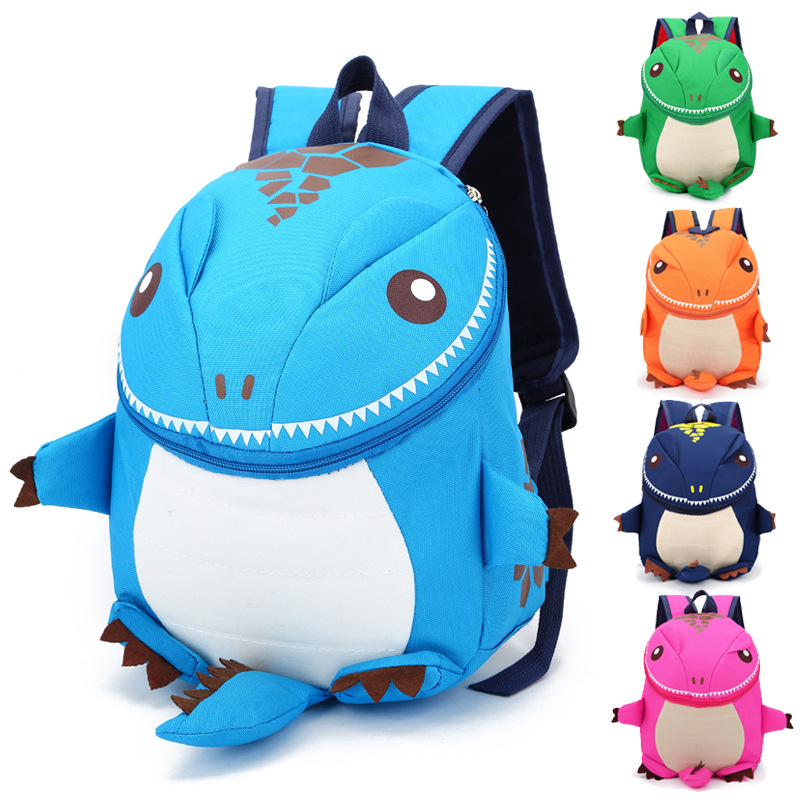 Kindergarten School Backpack 3D Cute Dinosaur Waterproof Schoolbags For Toddlers