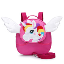 Toddlers Kids Rainbow Unicorn Wings Backpack Fashion Bags