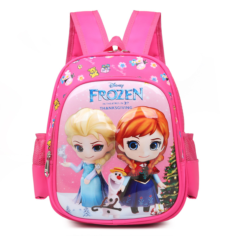 Kindergarten School Backpack Cute Cotton Frozen Waterproof Schoolbags For Toddlers