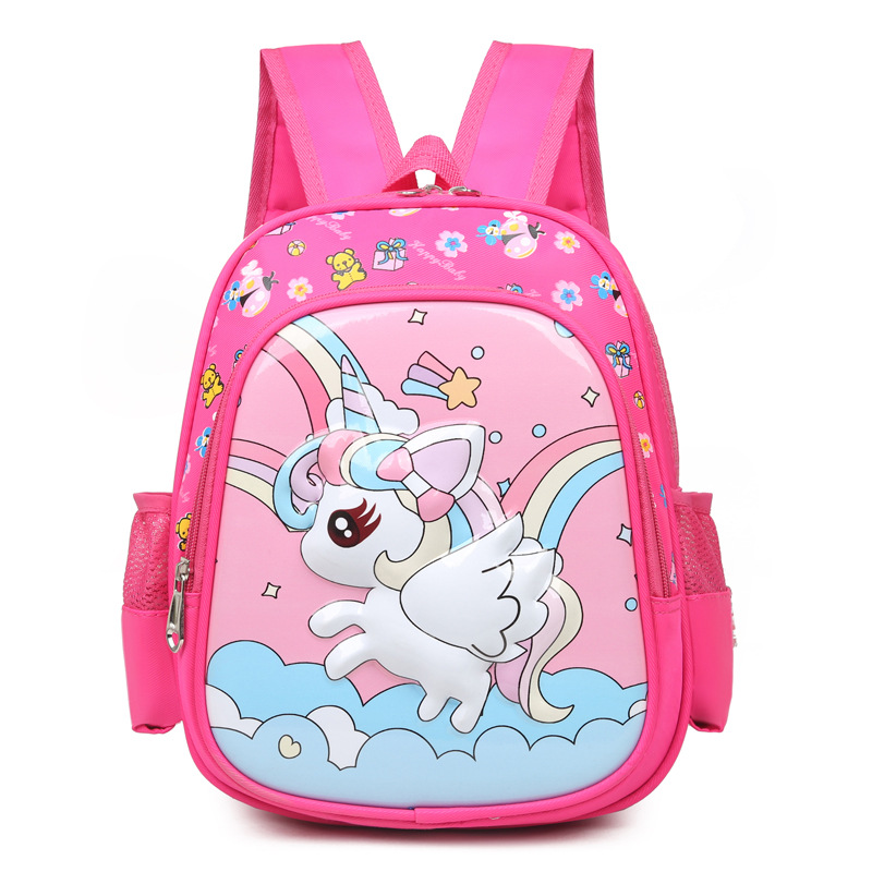Kindergarten School Backpack Unicorn Waterproof Schoolbags For Toddlers