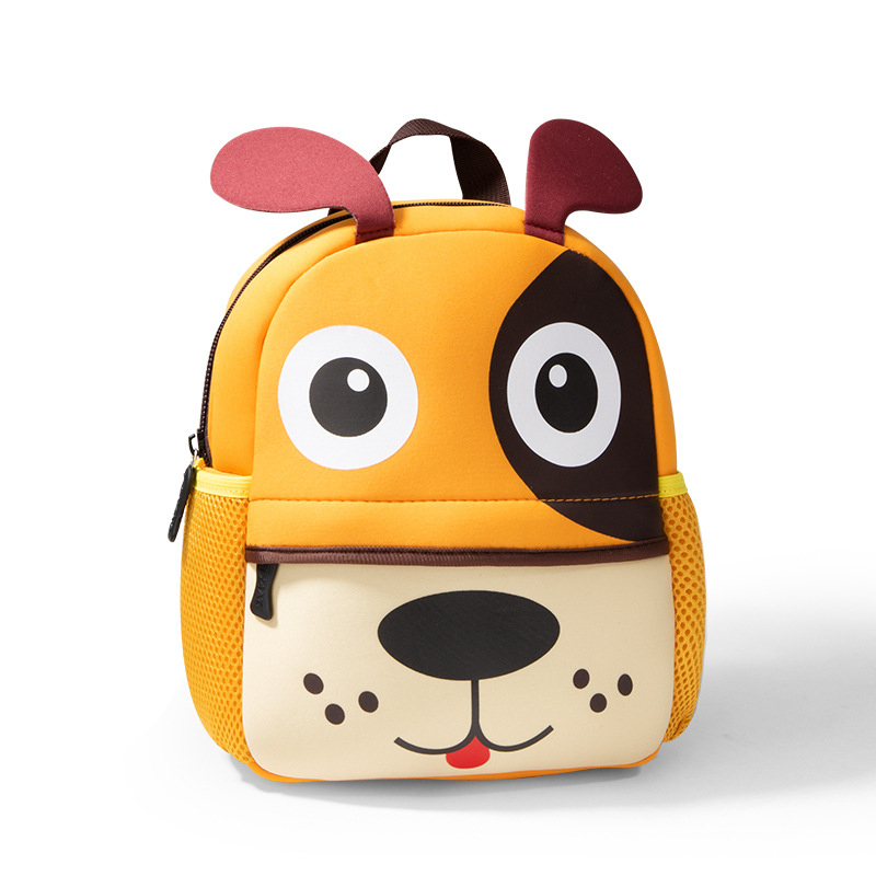 Kindergarten School Backpack 3D Animal Giraffe Waterproof Schoolbags For Toddlers Kids