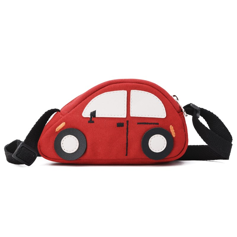 Toddler Kids Cute Canvas Car Shoulder Bags