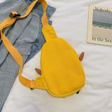 3D Cute Duck Canvas Shoulder Bags