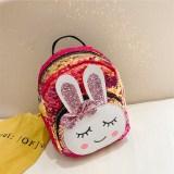 Fashion Cute Sequins Bowknot Rabbit Backpacks