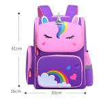Primary School Backpack Cartoon Unicorn Rainbow Schoolbags For Kids
