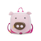 Toddlers Kids Cute Animal Elephant Square Backpack Bags