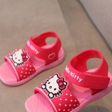 Kid Girl Cartoon Hello Kitty Sandals Shoes