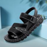 Kid Teens Boy PU Outside Sandals Shoes