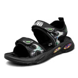 Kid Teens Boy Letters Outside Beach Sandals Shoes