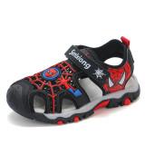 Kid Teens Boy Spider Man Outside Beach Sandals Shoes