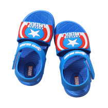 Kid Boy Red Star Captain America Sandals Shoes