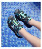 Kid Boy Cut Out Lace Up Sandals Shoes