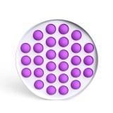 Rainbow Circle Pop It Fidget Toy Push Pop Bubble Sensory Fidget Toy Stress Relief For Kids & Adult