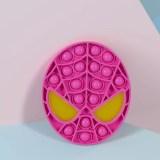 Spider Man Pop It Fidget Toy Push Pop Bubble Sensory Fidget Toy Stress Relief For Kids & Adult