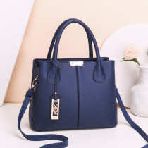 Women Crossbody Solid Color PU Large Tote Bags