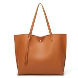 Women Handbag Large Work Solid Color Tote Bags