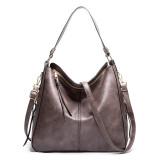 Women Shoulder Strap Bags Soft Leather PU Large Tote Handbags