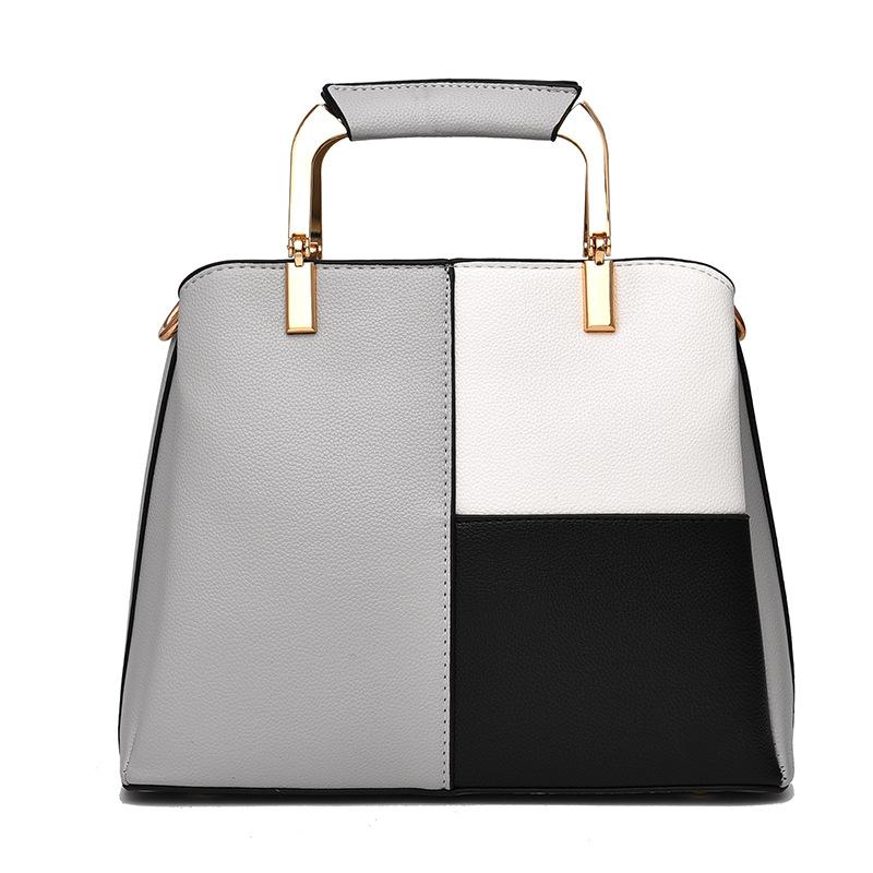 Women Matching Color Shoulder Bags Crossbody Large Tote Handbags
