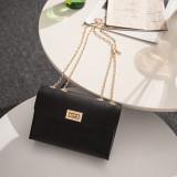 Women Shoulder Bags Crossbody Solid Color Chain Square Handbags