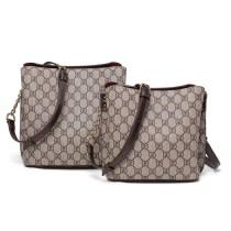 Fashion Women Grid Letters Plaids Single Shoulder Chain Bags