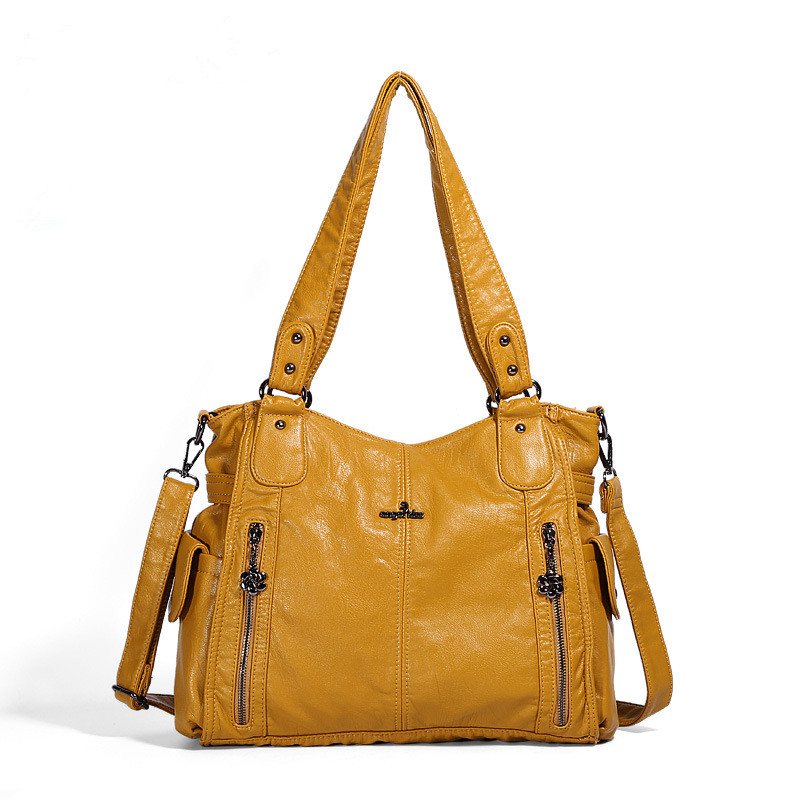 Women Shoulder Bags Satchel Soft Leather Tote Hobo Handbags