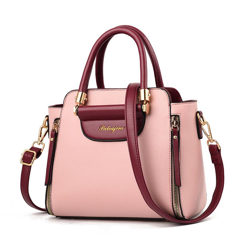 Women Zipper Shoulder Bags Crossbody Large Tote Handbags