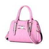 Women Solid Color Bowknot Handbag Crossbody Large Tote Bags