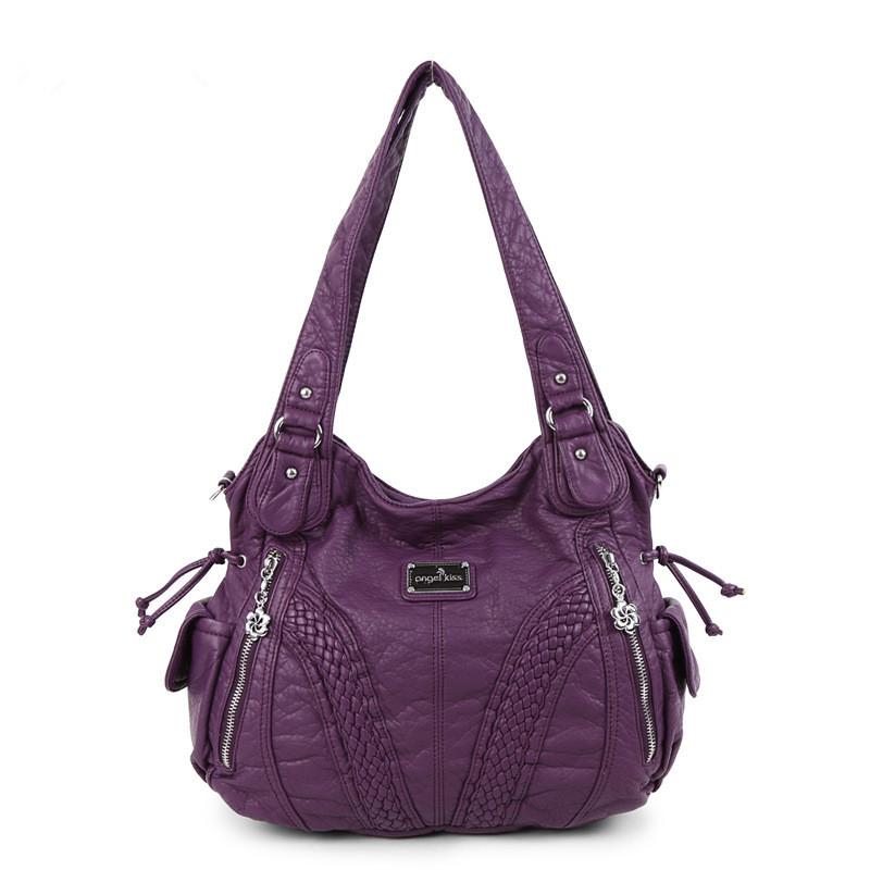 Women Shoulder Bags Satchel PU Hobo Tote Handbags