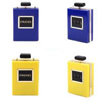 Women Crossbody Paris Perfume Bottle Shaped Handbag