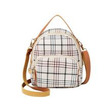 Women Shoulder Bags Crossbody Vintage Lattice Casual Handbags