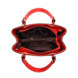 Women 3 Colors Matching Fashion Girl Pendant Handbag Crossbody Large Tote Bags