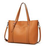 Women Crossbody Bags Retro PU Large Capacity Tote Handbags